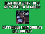 Mariner Moose - Pepperidge Farm Remembers?