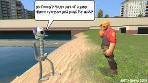 Smitty as a TF2 Hale Boss?? by AngusMcTavish