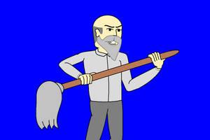 Janitor Jack - Defending by AngusMcTavish