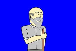 Janitor Jack Laughing by AngusMcTavish