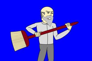 Janitor Jack - Ol' Red by AngusMcTavish