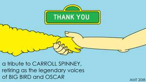 Tribute - Carroll Spinney by AngusMcTavish