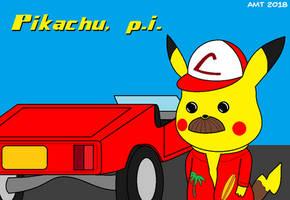 Pikachu, P.I. by AngusMcTavish