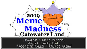 Meme Madness 2019 Logo by AngusMcTavish