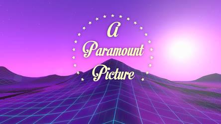 Paramount Synthwave Mountain