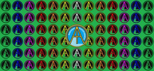 AngusArt Logo Wallpaper