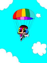 Parachuting Rainbow C. Kathy
