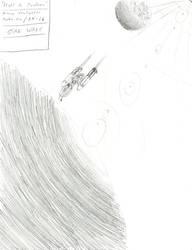 Flight to Imdaar by sharkker