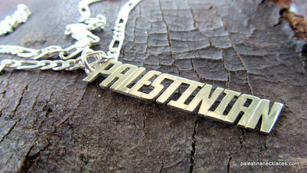 Palestinian Silver Necklace