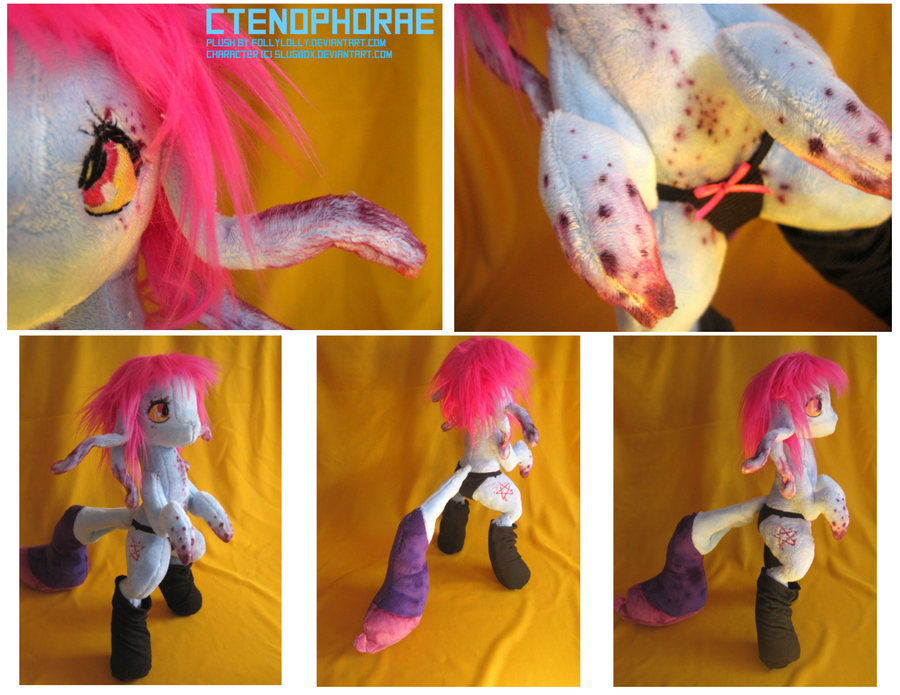 Ctenophorae: the plush by FollyLolly