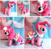 Grand Galloping Gala Pinkie Pie plushie by FollyLolly