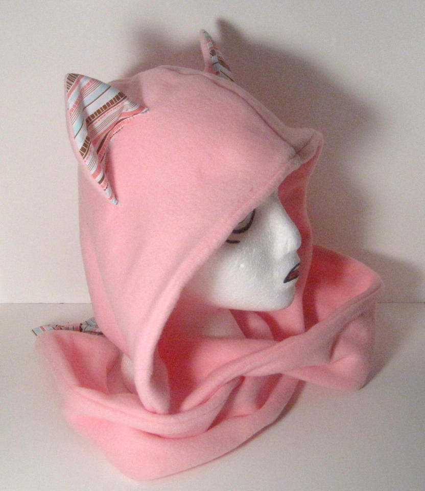 Pinky Kitty scoodie by FollyLolly