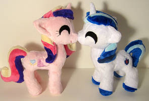 Itty Bitty Shining Armor and Cadence