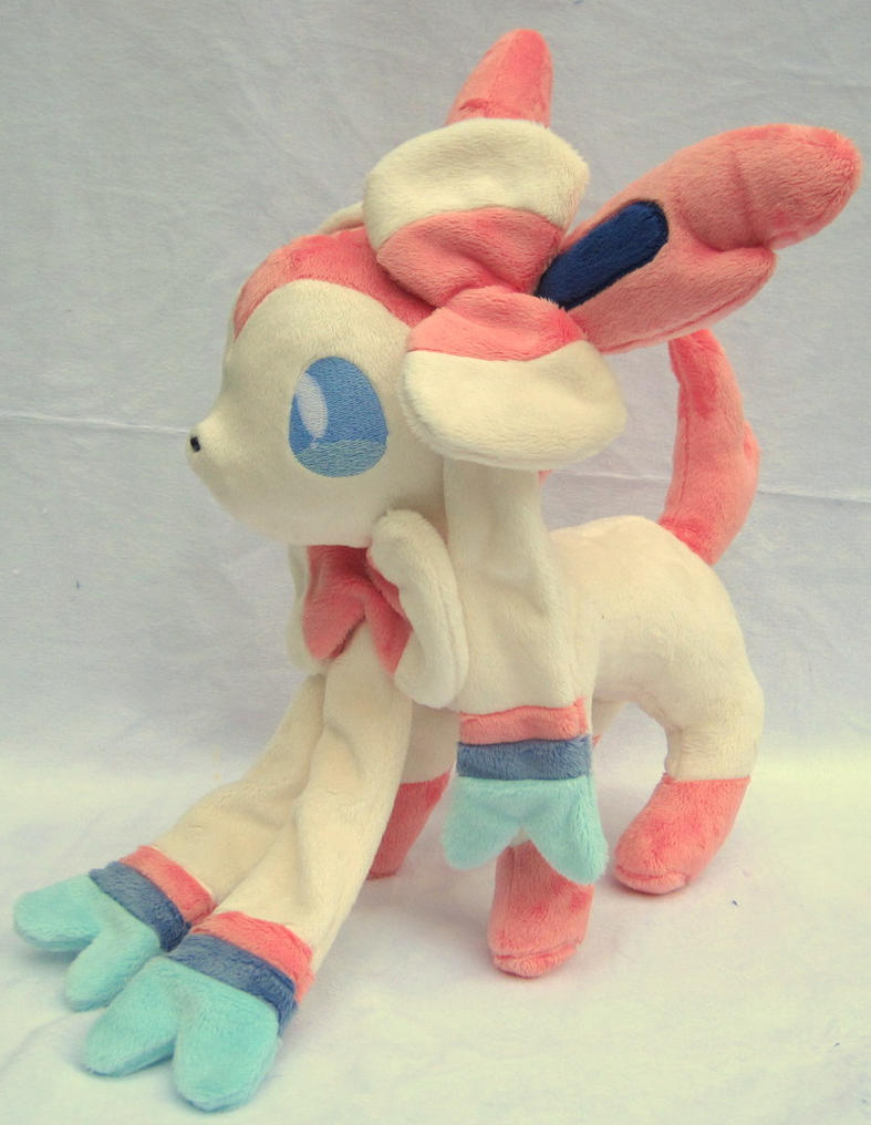 Sylveon plush by FollyLolly