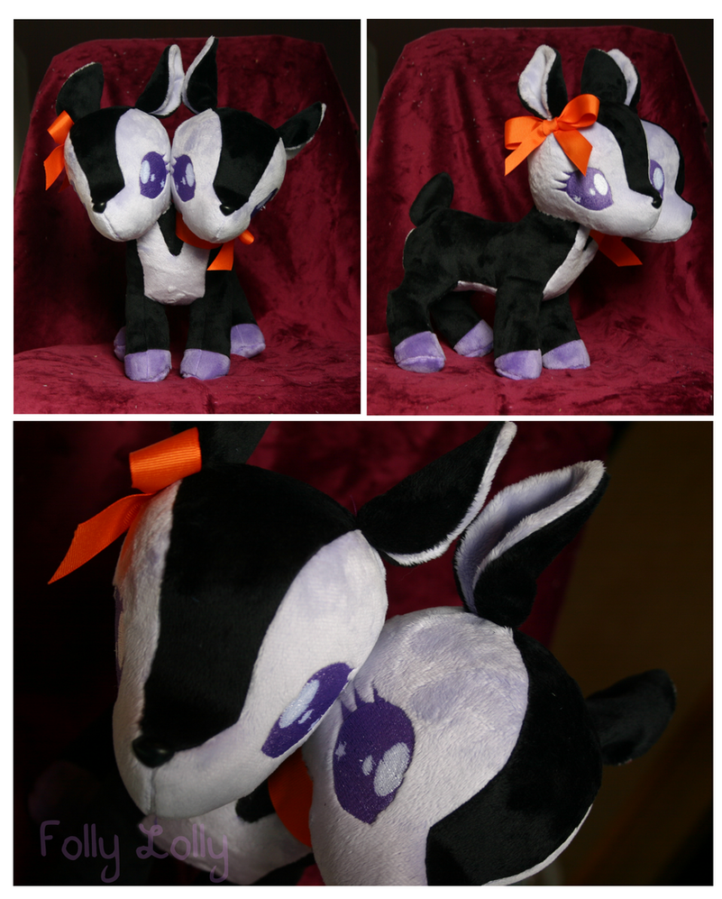 Spooky Deer Plush by FollyLolly