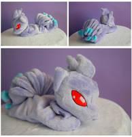 Shiny Ninetales beanie by FollyLolly