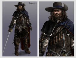 The Musketeer by DarkTime005