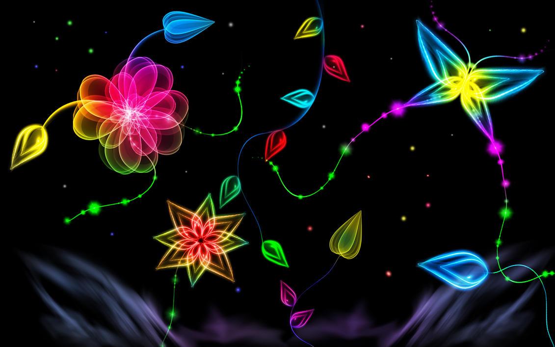 Neon Glow Wallpaper By Bahkauv On DeviantArt