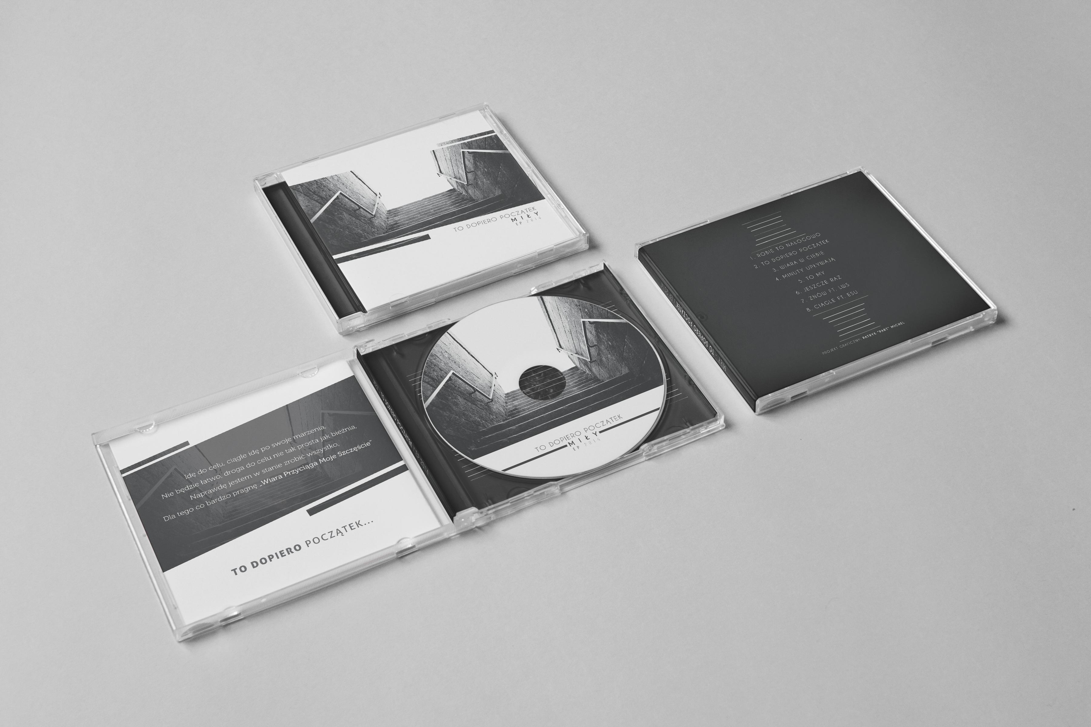 Mily - To Dopiero Poczatek / CD COVER ALBUM MOCKUP by Patrydinho ...
