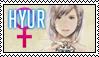 FFXIV Stamp - Hyur Female by Ravij