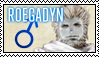 FFXIV Stamp - Roegadyn Male by Ravij