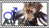FFXIV - Au Ra Male Stamp by Ravij