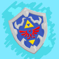 Hyrule Shield by esmasrico
