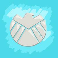Shield logo by esmasrico