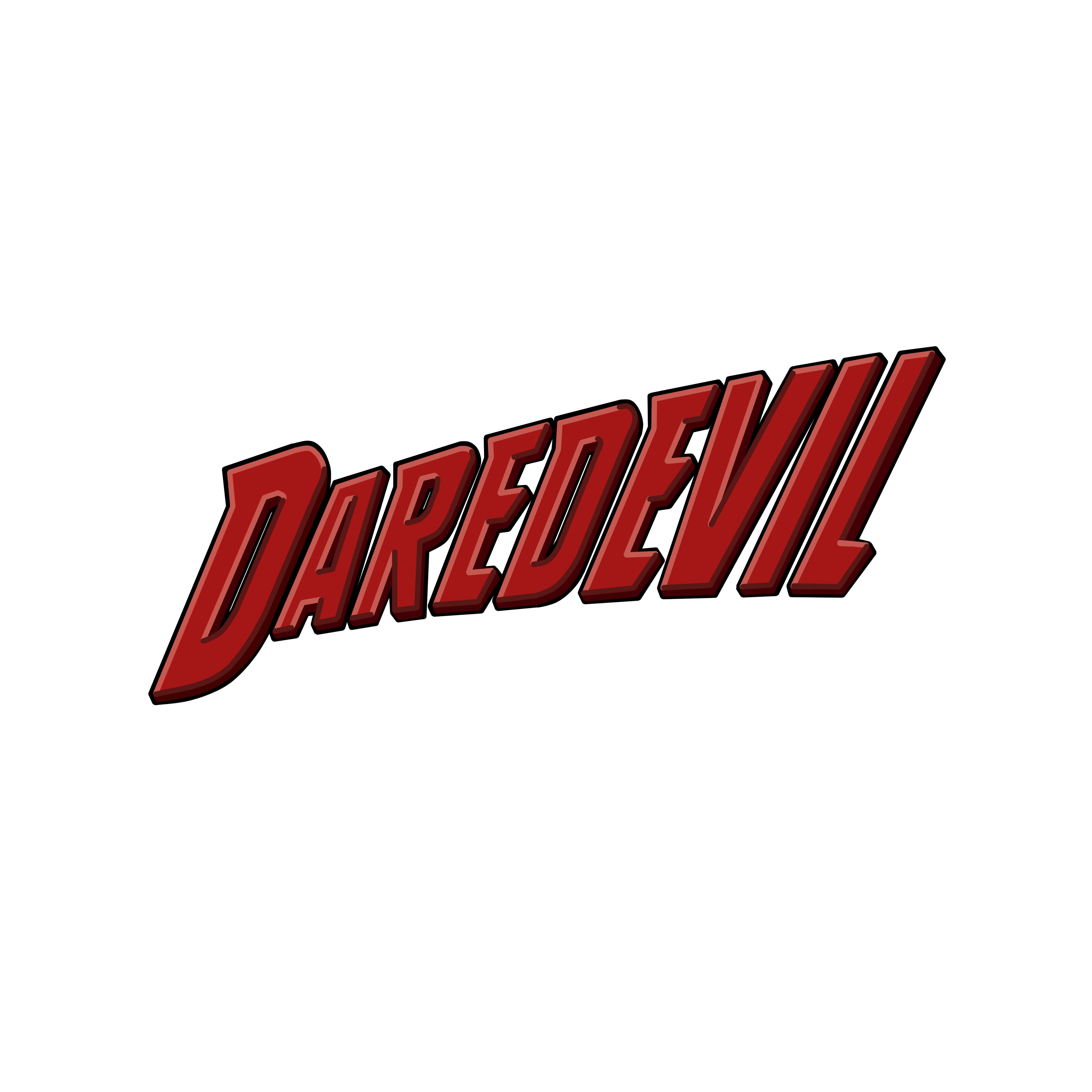 daredevil logo by esmasrico on deviantart