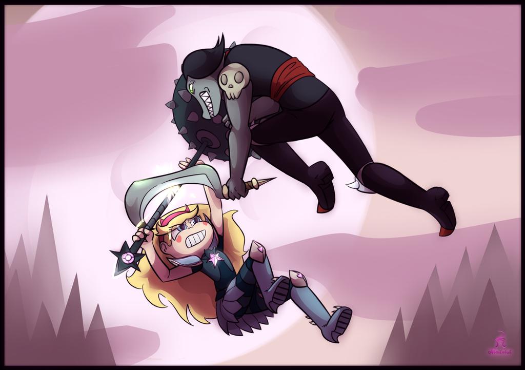 Star duel by OffBeatReBoot