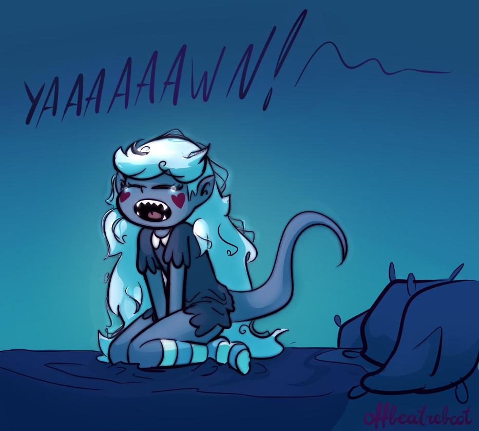 MonStar yawn by OffBeatReBoot