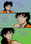 Same person,diff.styles-Yamcha
