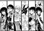 xxxholic+Tsubasa Bookmarks