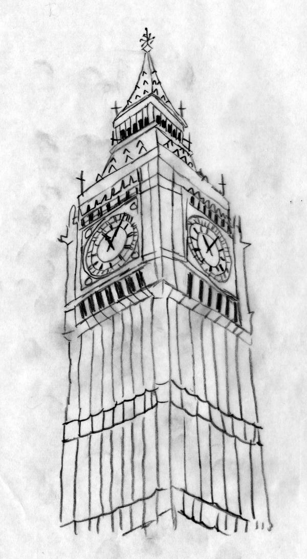 big ben doodle - photo #41