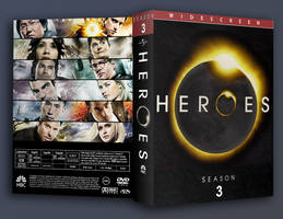 heroes seson 3 dvd cover by midget525