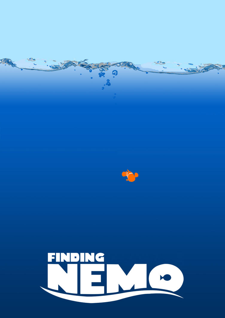 Finding Nemo poster by midget525 on DeviantArt