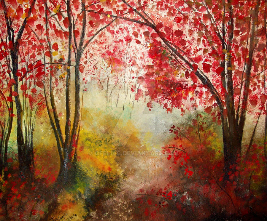 Autumn Forest by Ofeliac