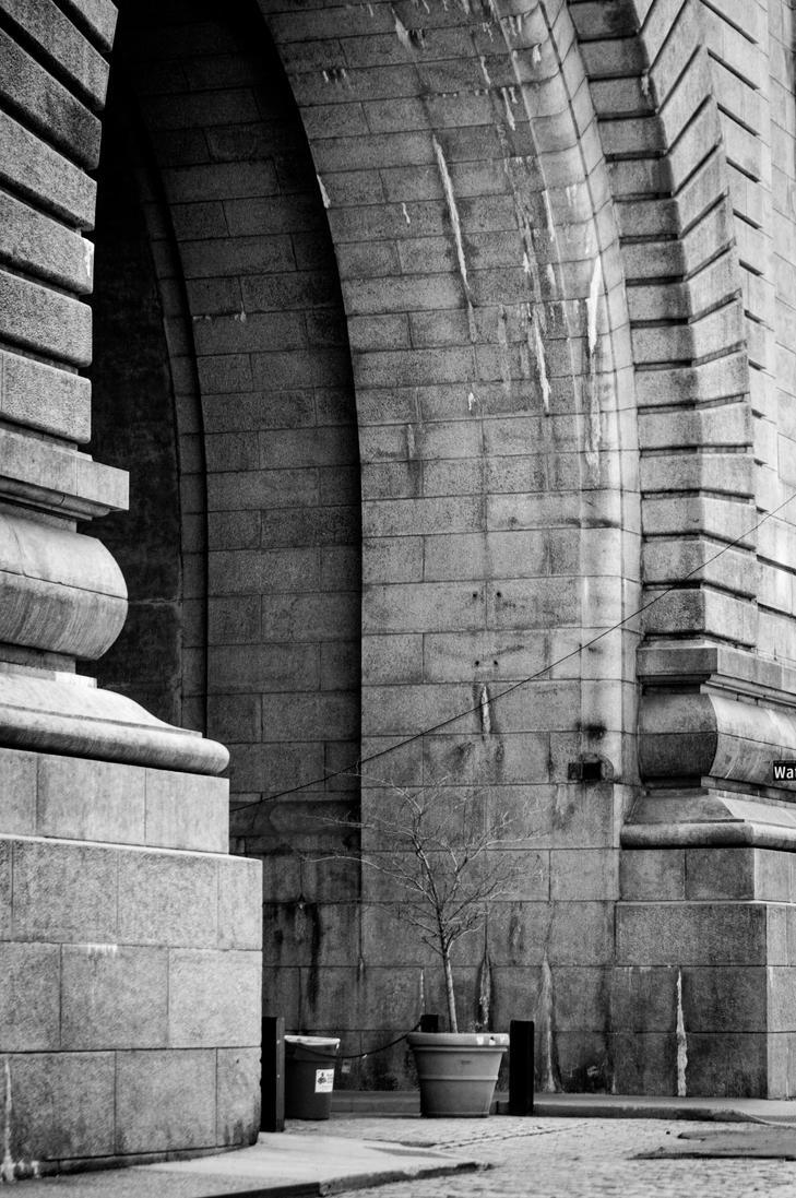 Brooklyn Bridge Arch by W-L-Designs