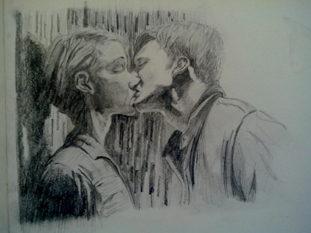 Drive Elevator Kiss by MajinAngel