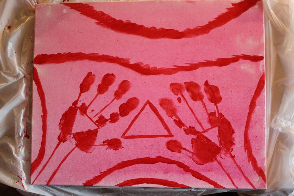 Triangles or Artist's Signature by TheSkaldofNvrwinter