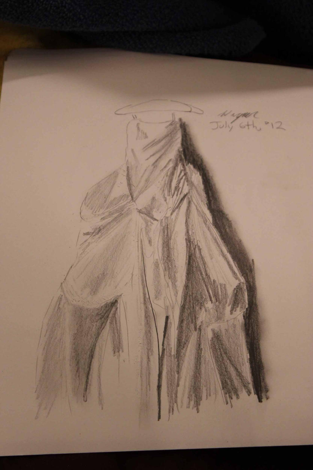 Practice Wedding Gown by TheSkaldofNvrwinter