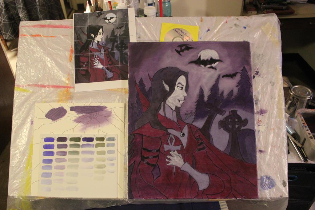 Victoria The Vampire - Stage Four by TheSkaldofNvrwinter