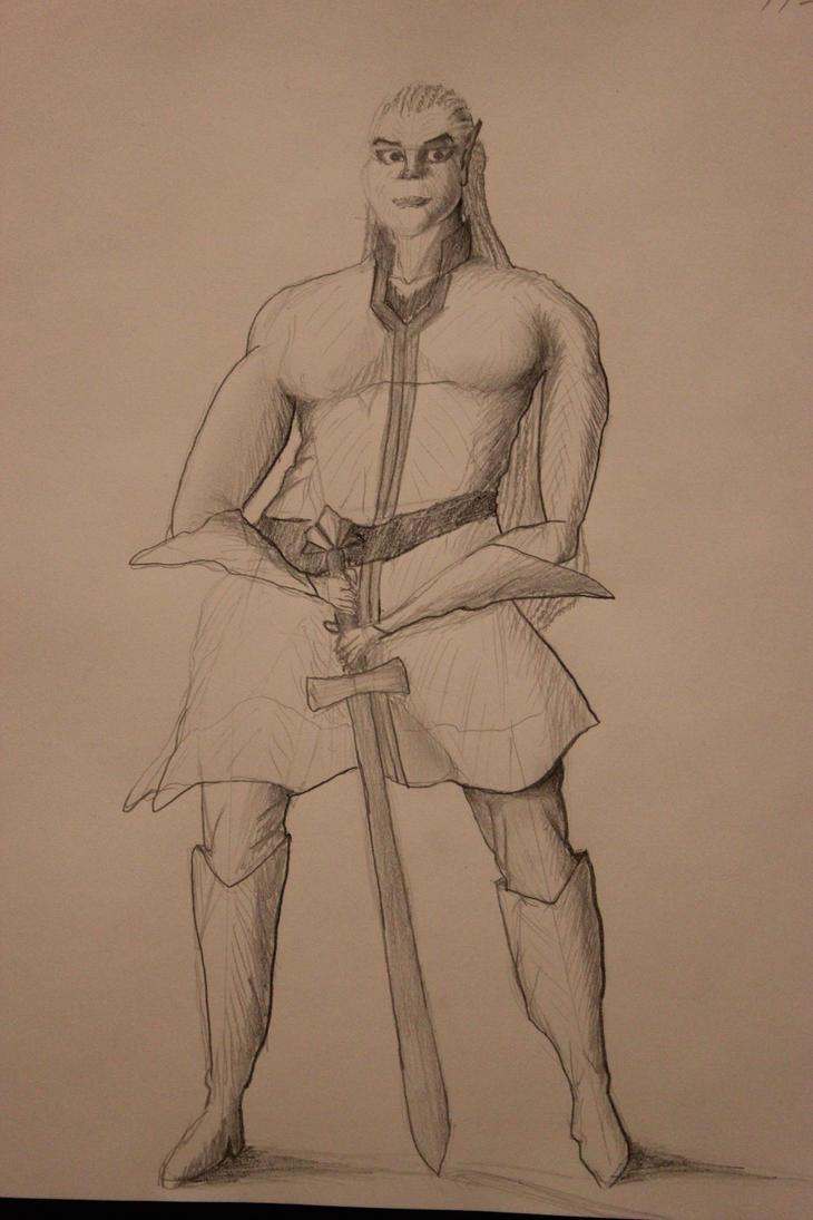 Lu'thea Stands by TheSkaldofNvrwinter