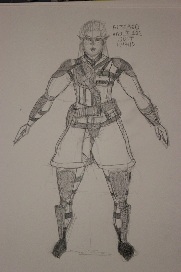 Redesigned Vault Suit plus Armor by TheSkaldofNvrwinter