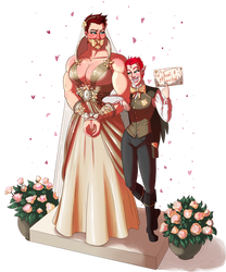 Just Married by PumpkinPinUp