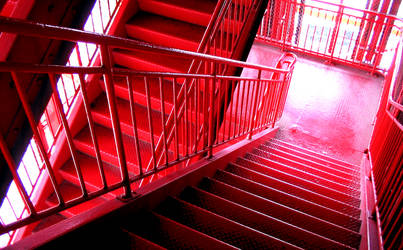 Red Staircase