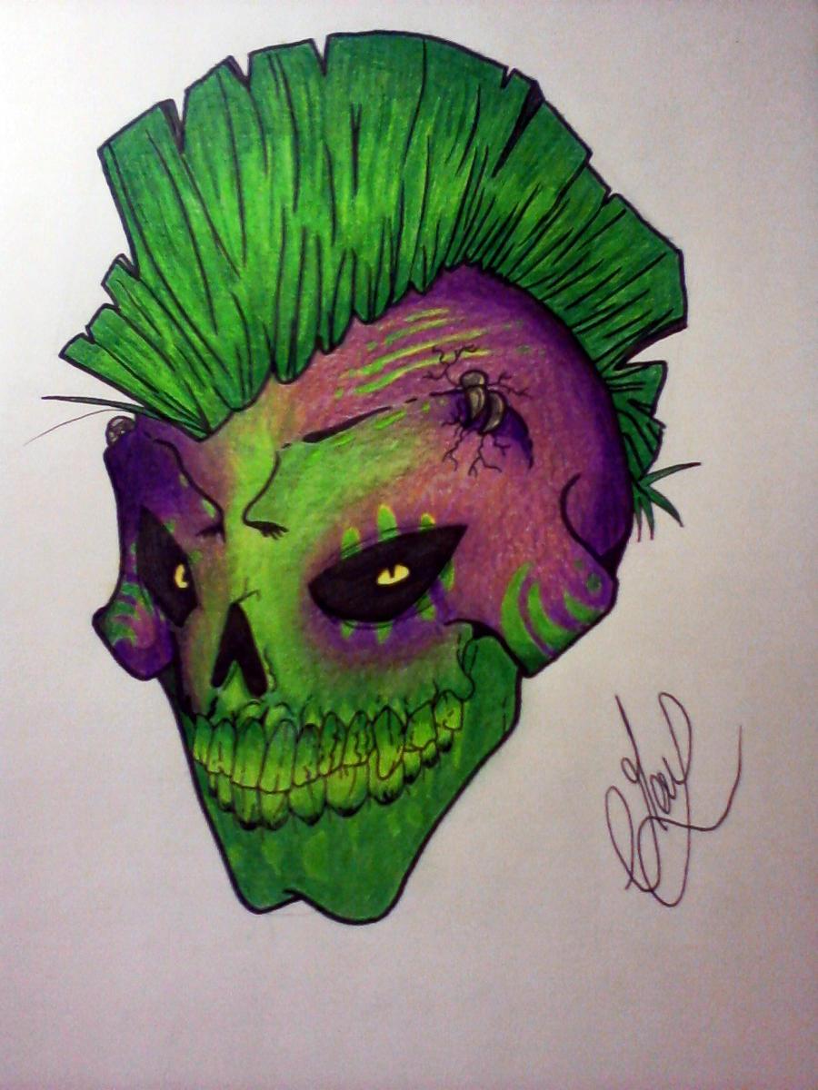 radioactive skull by uffielle on deviantart