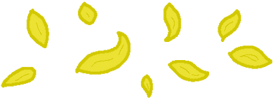 Yellow Petal Page Decor by 27Paczkis