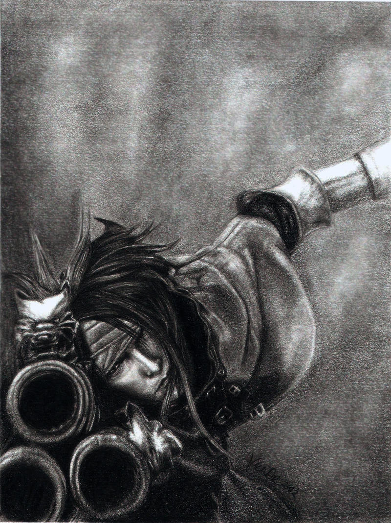 Final Fantasy VII - Vincent Valentine by y3nd0