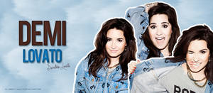 Demi Lovato Header #1 by Sweety-Muffin